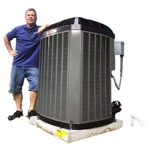 Trane & Goodman Air Conditioners Installed