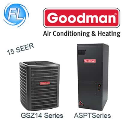 Goodman 15 SEER Air Conditioners