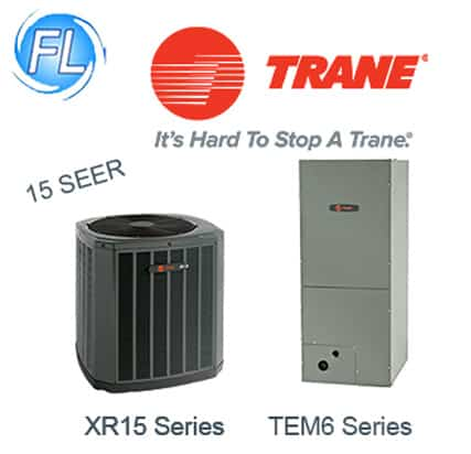 Trane 15 SEER Air Conditioners